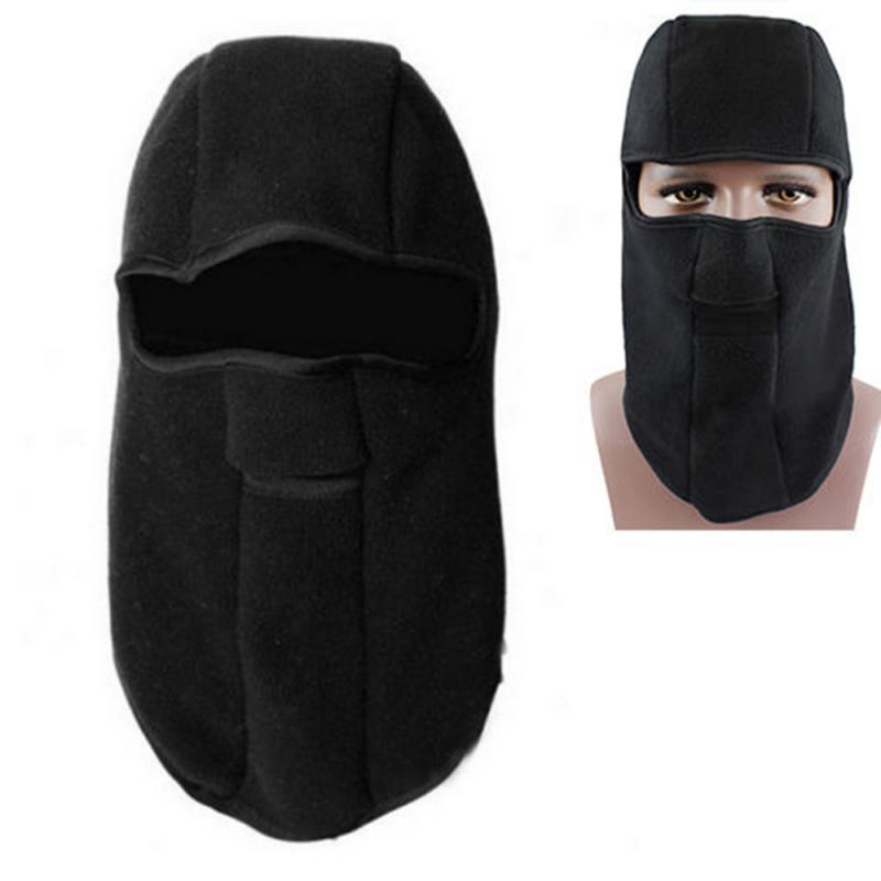Winter Man Mask Balaclava Cycling Scarf Headband Outdoor Running Neck Warmer Bike Bicycle Riding Face Masks Motorcycle Face Mask