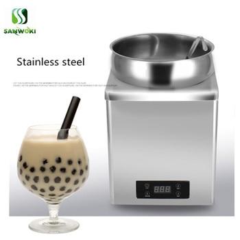 7L التجارية آلة تدفئة الشوكولاته حساء سخان آلة بوفيه حفلة عميقة حساء موقد الغذاء آلة تدفئة آلة العزل