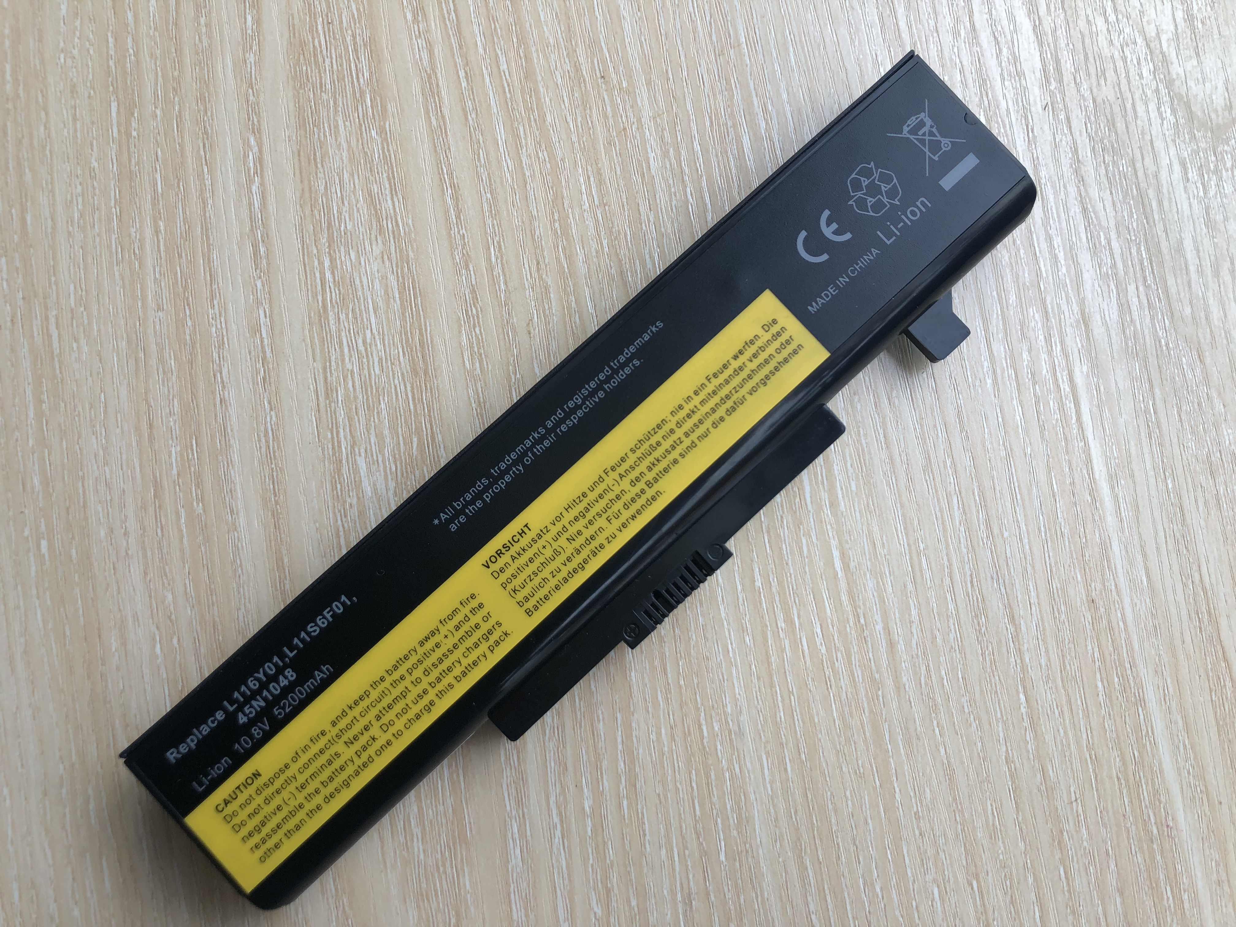 ل ينوفو G580 سلسلة بطارية كمبيوتر محمول لينوفو L11S6Y01 L11L6Y01 Z380 Z380AM Y480 G480 V480 Y580 G580AM