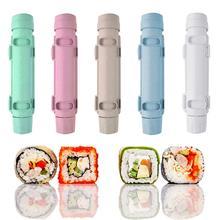 2021 nouveau rouleau riz moule Sushi fabricant Sushi Bazooka légumes viande roulant outil bricolage Sushi faisant la Machine cuisine Sushi outil