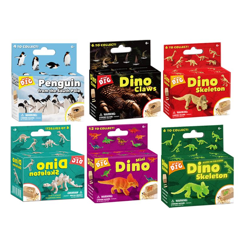 Unique Dinasors Dig Kit Dinasors Toys For Boys Stem Toy Gifts For 6 Year Old Boy