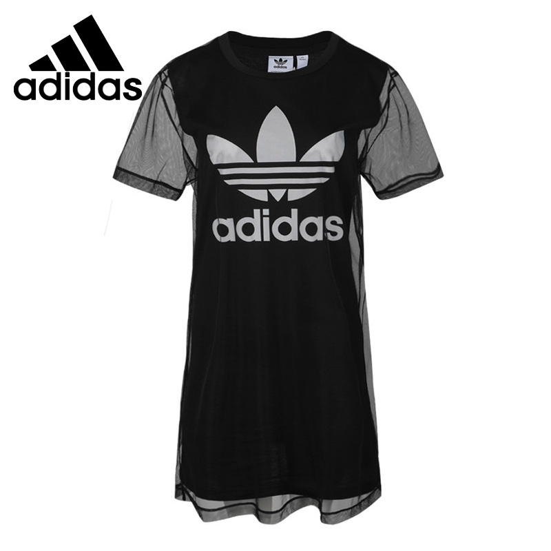 T-Shirts Adidas Sportswear Tee-Dress Short-Sleeve Women's Original New-Arrival
