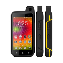 Zello Walkie Talkie B6000 4G LTE Cellphone PTT Octa Core IP68 Waterproof Smartphone 4GB+64GB 5000mAh NFC Android 6.0