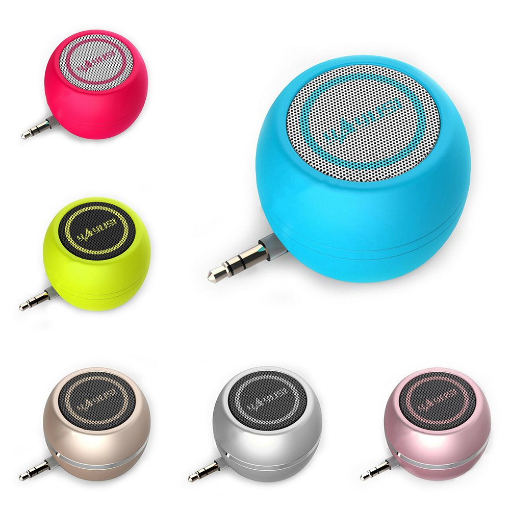 3.5mm Mini Portable Speaker Amplifier Sound System 3D Stereo Music Surround For ipod TV mobile phone iPhone Laptop Tablet PC
