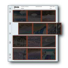 25x 6x7 120 4UB Arquivamento Arquivo de Impressão 120 Páginas de Negativos de Filmes Mangas Preservadores