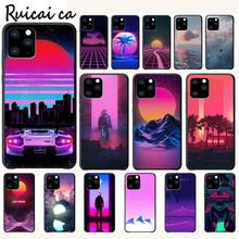 RuiCaiCa Vaporwave Aesthetic Luxury Phone Case Funda For Iphone 5s Se 2020 6 6s 7 8 Plus X Xs Max Xr 11 Pro Max Cases Cover kisscase natural wood bamboo phone cases for iphone x xs max xr cover plain phone cases for iphone 5 5s se 6 6s 7 8 plus funda