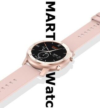 Full Touch Smart Watch Women IP68 Waterproof Bracelet ECG Heart Rate Monitor Sleep Monitoring Sports Smartwatch For Ladies 2