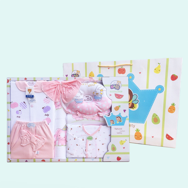 Does Bessie Bella Infants Gift Set Newborns Clothes Pure Cotton BABY'S FIRST Month Gift Top Grade Ceremony Four Seasons Set