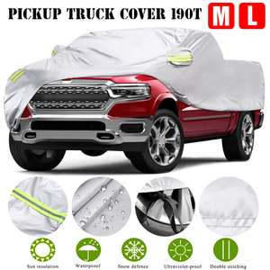 Car-Covers Pickup Truck Uv-Protection Sun-Snow Universal Waterproof Outdoor Full Silver-Case