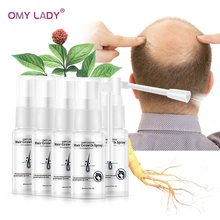 5PCS OMY LADY Anti Hair Loss Hair Growth Spray Essential Oil Liquid For Men Women Dry Hair Regeneration Repair Hair Loss