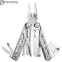 Daicamping EDC Camping HRC78K Multitool Zange Kabel Draht Cutter Multifunktionale Multi Werkzeuge Outdoor Camping Folding Messer Zangen