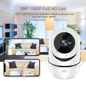 Image 2 - IP Camera Home Security 1080P HD Senza Fili Wifi Della Macchina Fotografica della Carta di DEVIAZIONE STANDARD di Cloud Storage Two Way Audio Visione Notturna di IR CCTV Baby Monitor