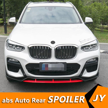 For BMW X3 Body kit spoiler 2019-2020 BMW X3 G01 HSC FRONT ABS Rear lip rear spoiler front Bumper Diffuser Bumpers Protector image