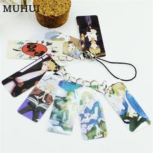Аниме natsume yuujinchou фото ПВХ Карта string брелок 8 шт карты/струны