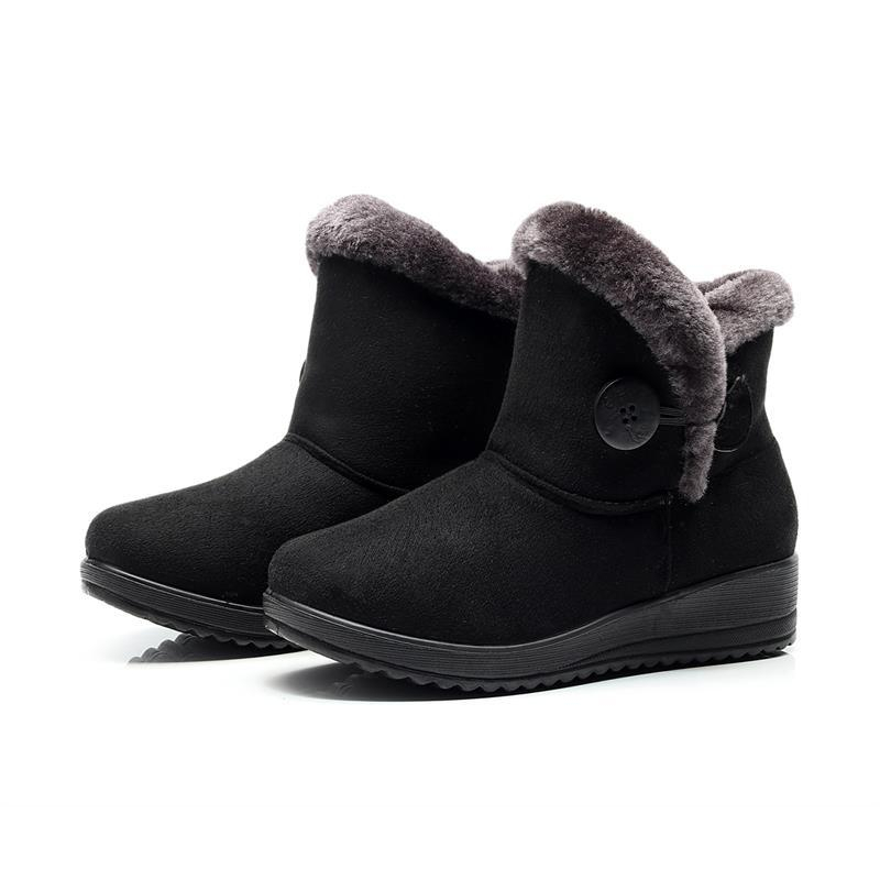 2020 New Women Boot Fashion Women Snow Boot Botas Mujer Shoes Women Winter Boots Warm Fur Ankle Boots For Women Winter Shoes
