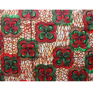 Image 5 - Africa Ankara Printing Patchwork Fabric Real Wax Tissu African Sewing Material for Dress Craft DIY Accessory Pagne 100% Cotton