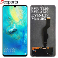 Original New For Huawei mate 20X LCD Display Touch Screen Digitizer Assembly Replacement parts For HUAWEI mate 20 X 7.2'' LCD