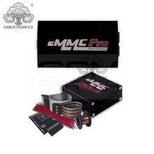 100% original emmc pro caixa emmc pro caixa dispositivo programador com emmc booster ferramenta funções e jtag caixa, riff caixa
