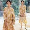 Inverno vestidos de natal feminino restaura antigas maneiras vestido swing pinup elegante vestido de festa de manga longa vestidos de impressão de natal