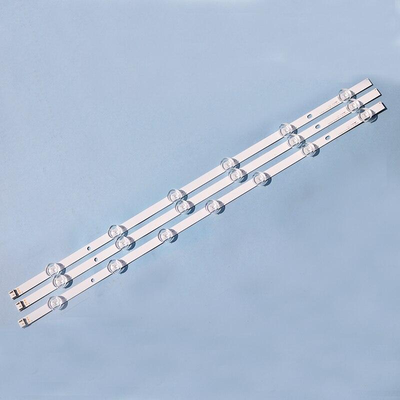New3pcs 6/7LED 590mmAluminum  LED Backlight Bar Compatible For LG TV 32LN5100 32LN545B 32LN5180 Innotek POLA2.0 32 Inch A B Type