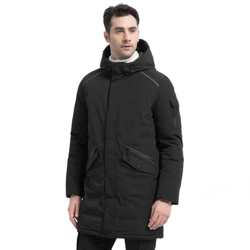 Фото ICEbear 2019 new high quality winter coat simple casual coat design men