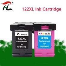цены 122XL Replacement for hp cartridge 122 xl HP122 For Deskjet 1510 2050 1000 1050 1050A 2000 2050A 2540 3000 3050 3052A printer