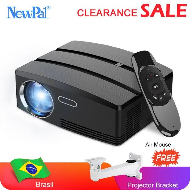 Mini projetor de cinema em casa projetor android wifi beamer 3d hd led proyector com hdmi usb vga av porto afastamento vídeo tv