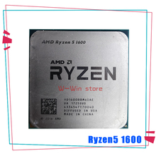 AMD Ryzen 5 1600 R5 1600 R5 برو 1600 3.2 GHz ستة النواة اثني موضوع 65W معالج وحدة المعالجة المركزية YD1600BBM6IAE YD160BBBM6IAE المقبس AM4