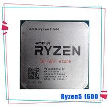 Amd ryzen 5 1600 r5 1600 r5 pro 1600 3.2 ghz seis-núcleo doze-linha 65w processador central yd1600bbm6iae yd160bbbm6iae soquete am4