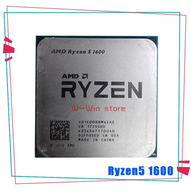 AMD Ryzen 5 1600 R5 1600 R5 PRO 1600 3.2 GHz processore CPU a sei Core a dodici Thread 65W YD1600BBM6IAE Socket Socket AM4