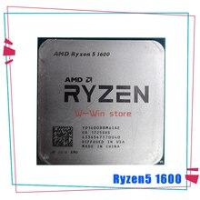 Amd ryzen 5 1600 R5 1600 R5プロ1600 3.2 ghz 6コアtwelveスレッド65ワットのcpuプロセッサYD1600BBM6IAE YD160BBBM6IAEソケットAM4