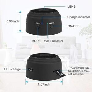 Image 2 - A9 Mini WiFi 1080P Camera Remote Surveillance Home Security Wireless IP Camera SGA998