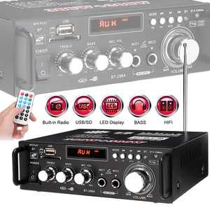600w Car Amplifiers Audio Blue