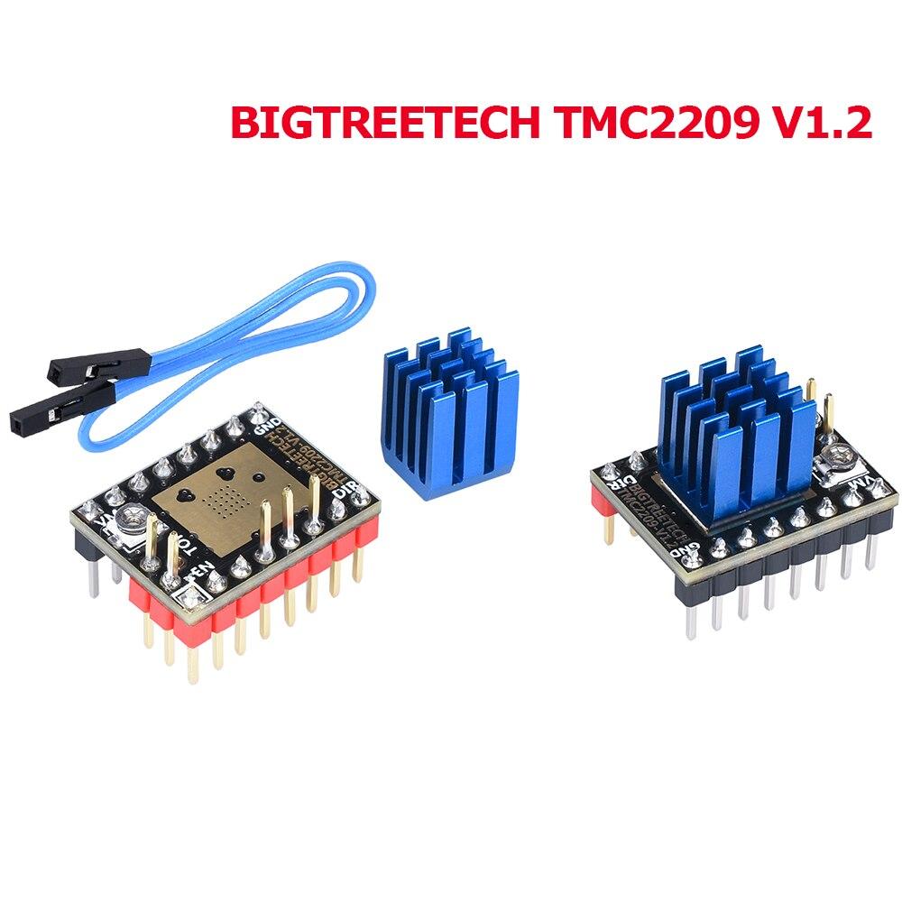 BIGTREETECH TMC2209 V1.2 Stepper Motor Driver TMC2208 UART Driver VS TMC2130 TMC5160 For SKR V1.3 Mini E3 3D Printer Parts