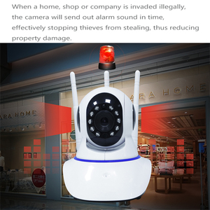 Image 3 - DAYTECH IP Camera 3 Antenna Security Camera 1080P Wifi Camera CCTV Detection Movement Camera (DT C8826)