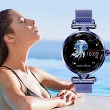 Женские Смарт-часы H1, монитор сердечного ритма, фитнес-браслет, трекер спортивной активности, умные часы, женские умные часы, PK B57 браслет