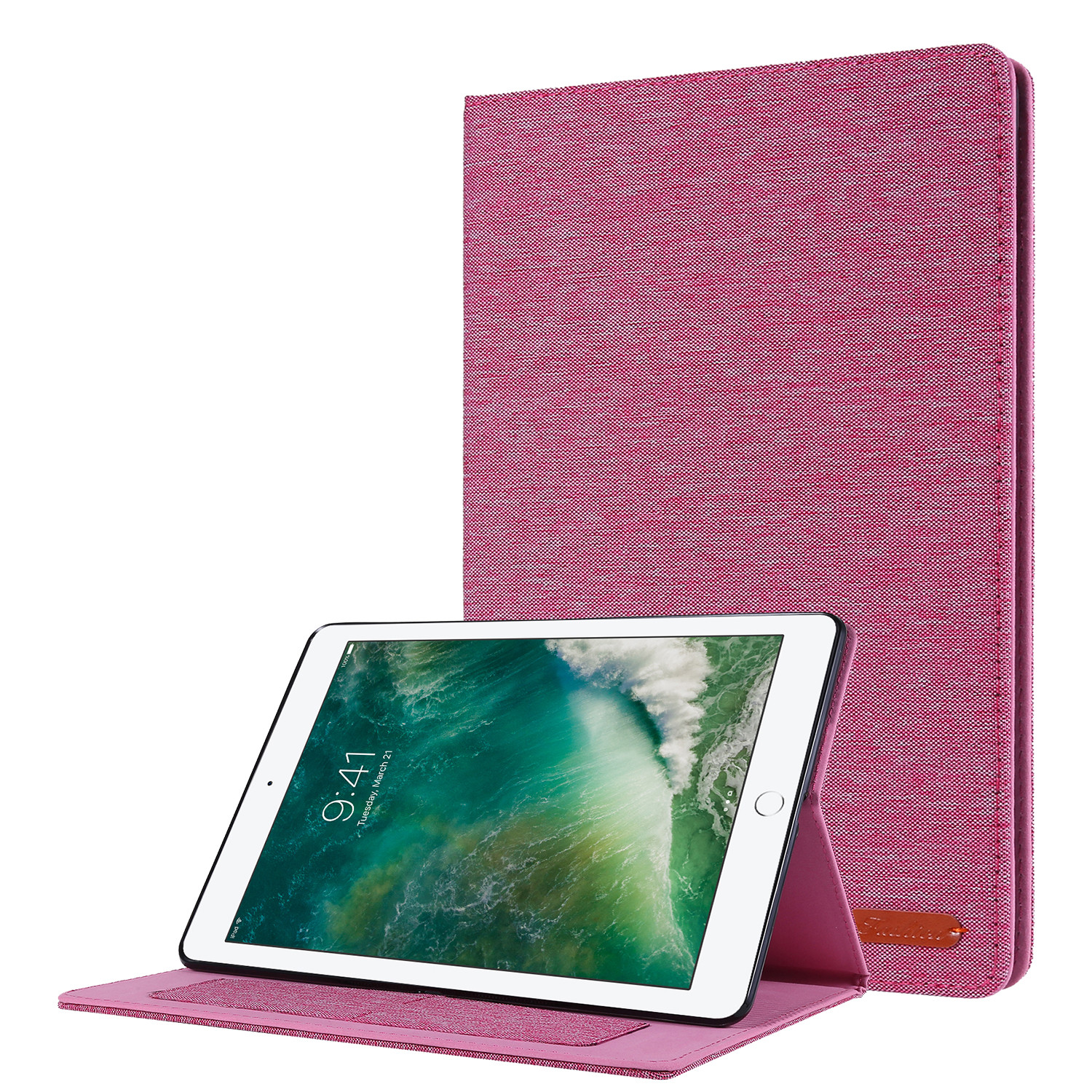 1 Red Funda For iPad 7th Generation Case for Apple iPad 10 2 2019 A2197 A2198 A2200 A2232