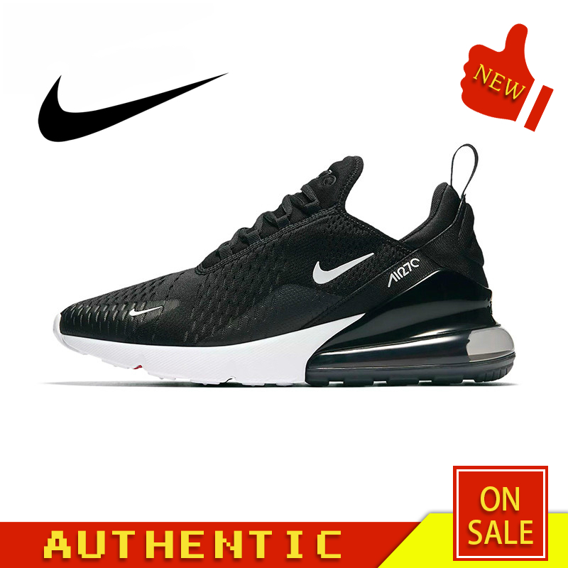 Original Authentic Nike Air Max 270 180 Men's Running Shoes Fashion Outdoor Breathable Sports Shoes Comfortable AH8050-002
