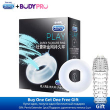 Durex warrant Silicone Penis Ring for Men physical Time-lapse ejaculation Erotic Safe Products Ejaculation Delay