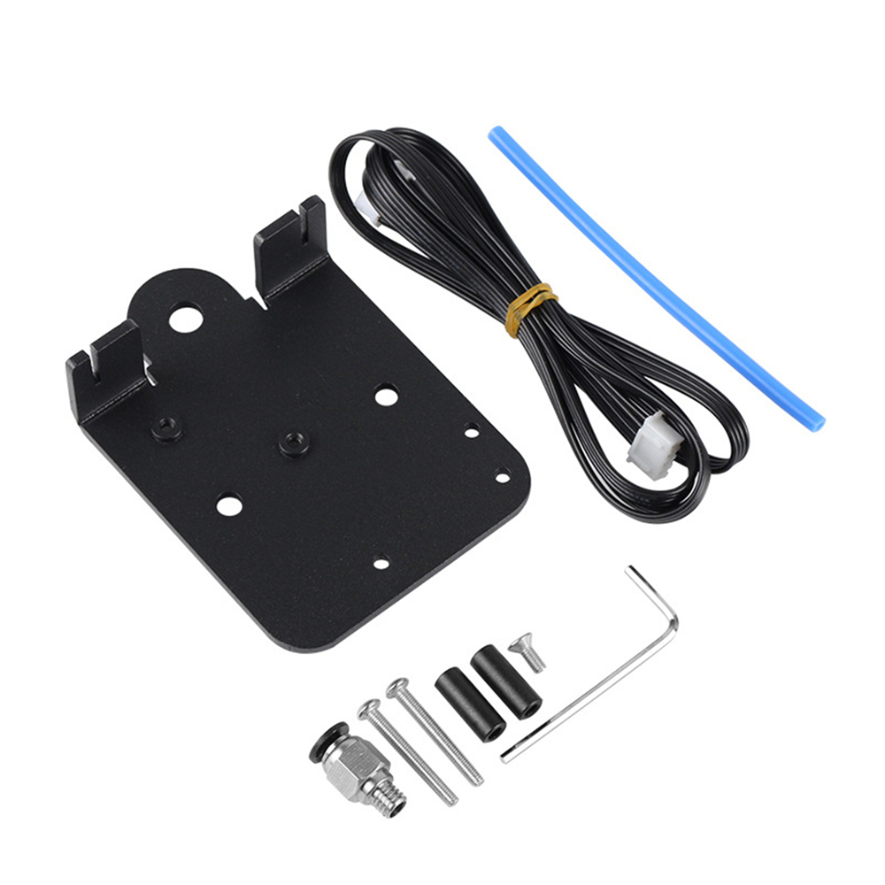 LICHIFIT Dual Z-Axis Extruder Aluminium Direct Drive Plate Kit Upgrade Board Adapter f/ür Creality CR-10S Ender-3 3D-Drucker