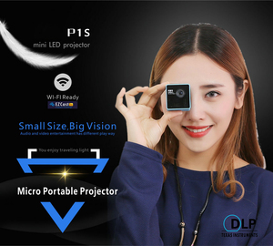 Image 4 - ByJoTeCH P1 Mobile Projector P1or P1S Pocket Home Movie Projector Proyector Beamer Battery Mini DLP projector mini led projector