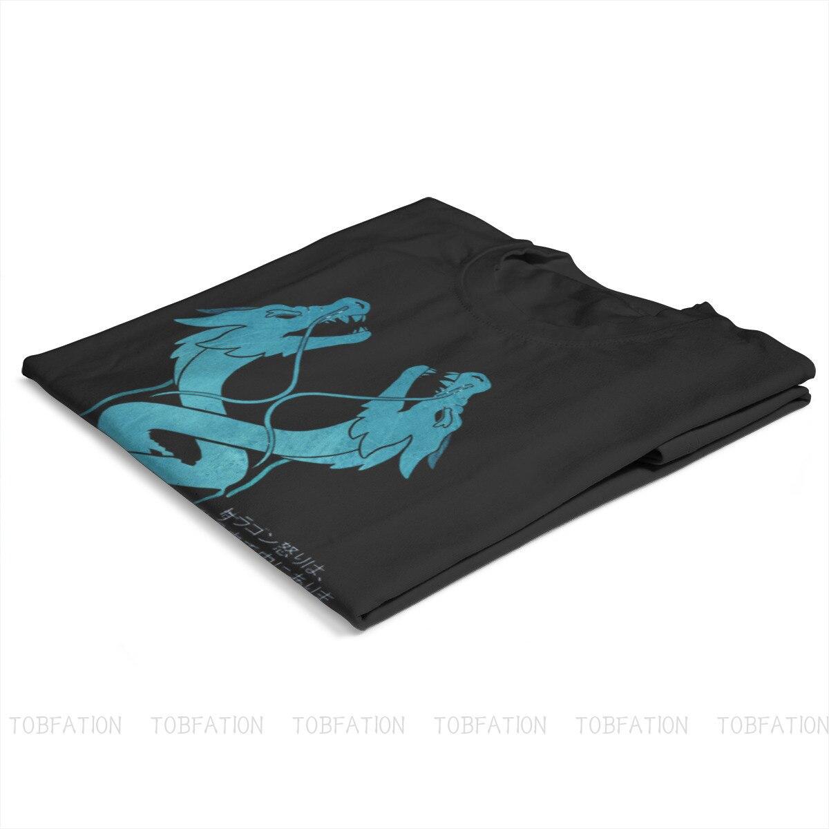 Ryuu Ga Waga Teki Wo Kurau Round Collar TShirt Overwatch Pure Cotton Basic T Shirt Man's Tops Fashion Oversized 2