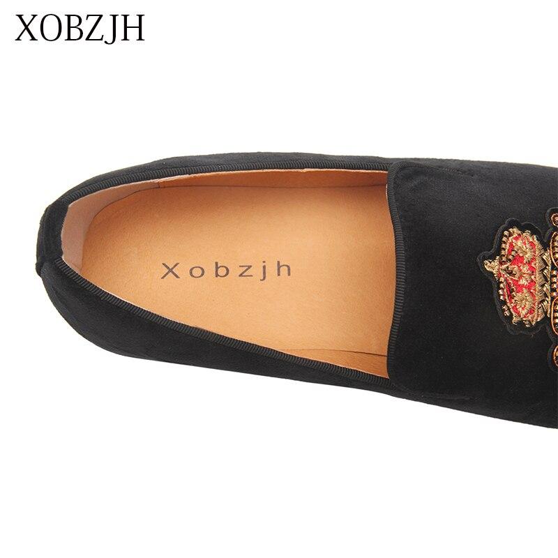 Итальянские Свадебные лоферы из натуральной кожи; Роскошные Мужские модельные туфли с красной подошвой; Дизайнерская обувь ручной работы; Высококачественная Мужская Брендовая обувь - 5
