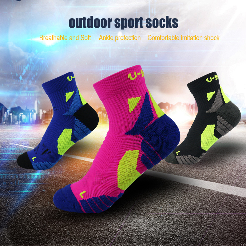 UGUPGRADE Professional Men Women Sport Socks EU 36 To 45 Running Sock Quick Dry Climbing Gym Fitness Cycling Calcetines Ciclismo