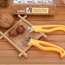 Ореховые крекеры 1 шт. Многофункциональный орех пекан крекер пластик нержавеющая сталь орех Шеллер маленькие инструменты домашний кухонный инструмент