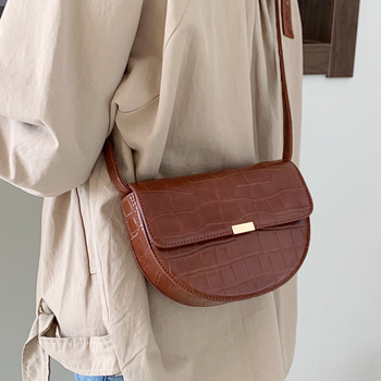 Beautiful Small Bag Woman 2020 All-match Oblique Tide Satchel Single Shoulder