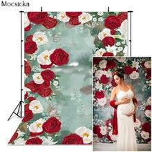 Mocsicka фон для фотосъемки с изображением роз и цветов чернильная