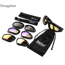 Daisy C5 Tactical Army Goggles Men Military Sunglasses Smoke