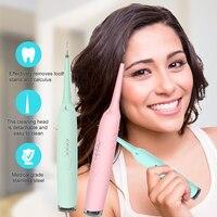 Scaler dental máquina sônica escova de dentes elétrica recarregável silicone usb escova de dentes cálculo removedor boca lavagem ferramentas dentista electric toothbrush rechargeable ultrasonic electric toothbrush electric toothbrush -