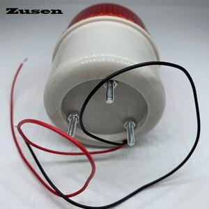 Image 3 - Zusen TB72D 220V маленький мигающий свет безопасность сигнализация стробоскоп сигнал предупреждасветильник свет светодиодная лампа
